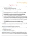 Atopic Dermatitis - Idaho Department of Health and Welfare