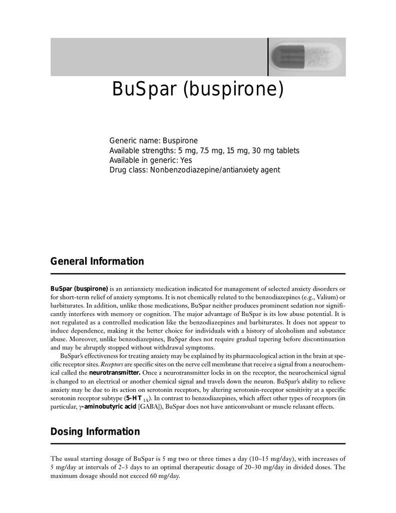 How to buy buspar in canada