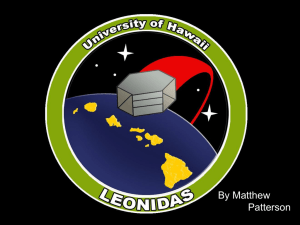 leonidas - University of Hawaii - Department of Electrical Engineering