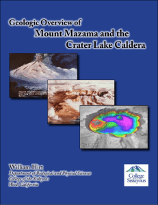Geologic Overview of Mount Mazama and the Crater Lake Caldera