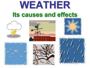 What is Weather? - 6th Grade Science