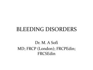 25-bleeding-disorders