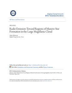 Radio Emission Toward Regions of Massive Star Formation