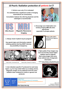 10 Pearls: Radiation protection of patients in CT - RPOP