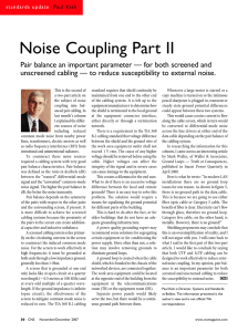 Noise Coupling Part II