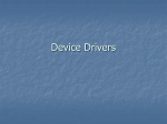 Device Drivers - WordPress.com