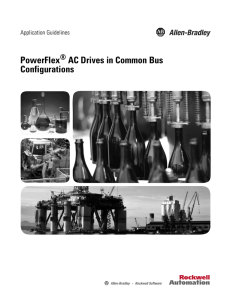 PowerFlex AC Drives in Common Bus Configurations