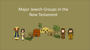 Pharisees (Jewish Religious Sects)