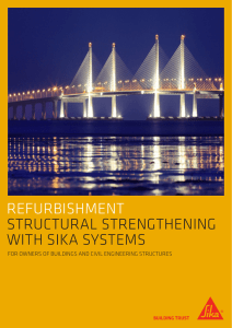 refurbishment structural strengthening with sika