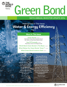 Green Bond - World Bank Treasury