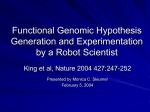 Functional Genomic Hypothesis Generation and Experimentation by
