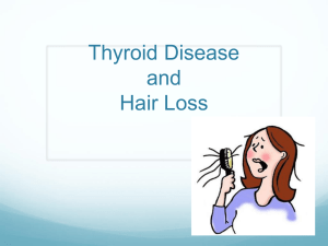 Thyroid Disease and Hair Loss