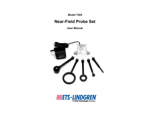 Near-Field Probe Set - ETS