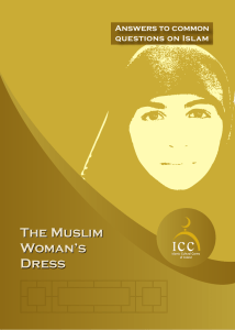The Muslim Woman Dress