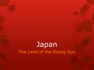 Unit 7 Japan Powerpoint