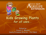 Ag Awareness – Plants