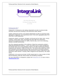 Cobalt`s IntegraLink division is the largest provider of