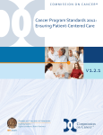 Cancer Program Standards 2012 - American College of Surgeons