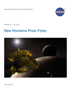 Pluto Flyby - New Horizons - The Johns Hopkins University Applied