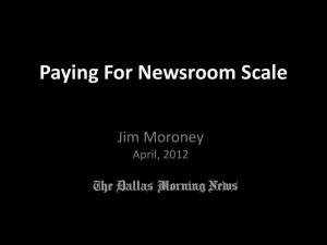 Paying for Newsroom Scale