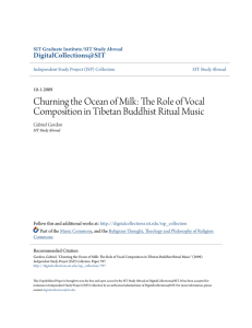 Churning the Ocean of Milk: The Role of Vocal Composition in