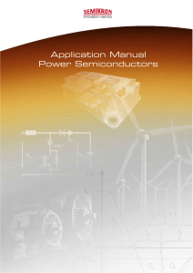 Application Manual Power Semiconductors