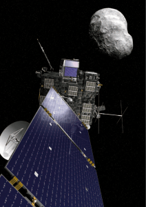 the first european asteroid `flyby`