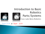 Introduction to Basic Robotics Parts/Systems