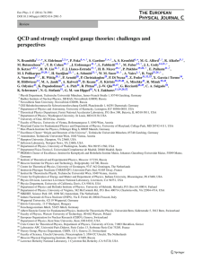 QCD and strongly coupled gauge theories: challenges and