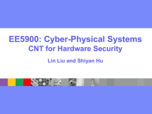 CNT for Hardware and IoT Security