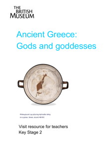Greece Gods and Goddesses v2
