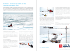 Arctic Ice Research by SAMS for the International Polar Year