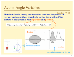 Action-Angle Variables