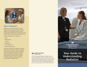 Radiation Your Guide to Understanding