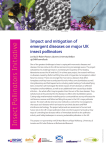 Impact and mitigation of emergent diseases on major UK