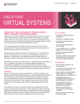 Check Point Virtual Systems Datasheet