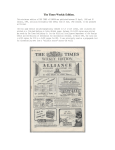 The Times Weekly Edition