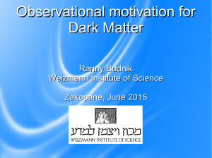 Observational motivation for Dark Matter