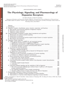 The Physiology, Signaling, and Pharmacology of Dopamine Receptors