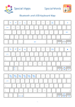Special Words Keyboard Map