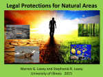 Legal Protections for Natural Areas