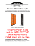 Media Release – SMB Electric Group – July 2013