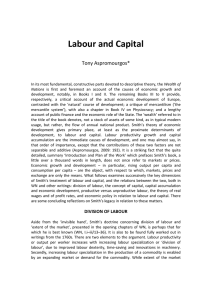 Labour and Capital - UWA Business School