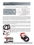 PPM test leads work with any Manufacturer`s four wire Ohm Meter