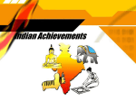 Indian Achievements