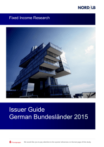 Issuer Guide German Bundesländer 2015