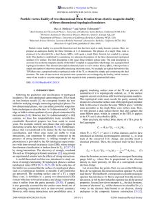 Particle-vortex duality of two-dimensional Dirac fermion from electric