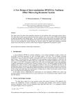 A New Design of Intermodulation by Nonlinear Effect Micro