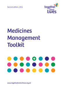 Medicines Management Toolkit