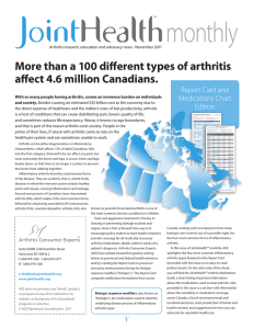 Than A 100 Different Types Of Arthritis Affect 4.6